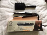 Nicky Clarke Hair Therapy Salon PRO CERAMIC Straightener *NEVER USED - IMMACULATE CONDITION*