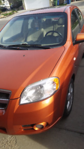 2007 Chevrolet Aveo Sedan, or best offer