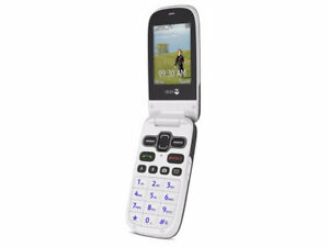 Doro PhoneEasy 620 flip cell phone new in box, have two phones