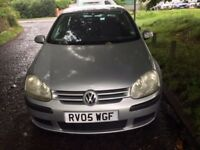 2005 VW GOLF AUTOMATIC VERY GOOD CONDITION 2 REMOTES NO DENTS OR RUST