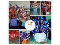 Chocolate bouquets & sweet cones and all other sweet treats