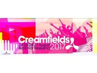 4 Day Creamfields Camping Ticket including Return Travel from/to Aberdeen