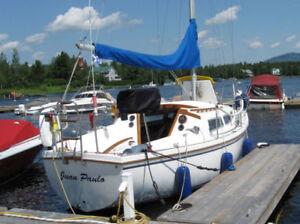 PRIX RÉVISÉ  voilier Catalina 27'