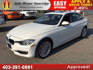 2014 BMW 328i XDRIVE SEDAN ALL WHEEL DRIVE NAVIGATION BACKUP CAM