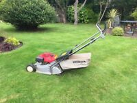 Petrol Mower Honda HRB423 - self propelled with roller