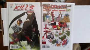 Deadpool kills the marvel universe again.2 varients
