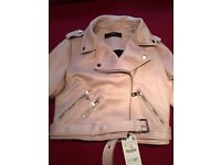 Brand new pink Zara jacket, label in situ