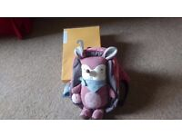 Toddler rucksack with reign