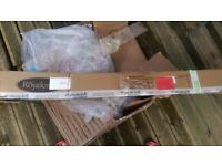 Argos Stackable chairs + Parasol Brand New