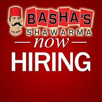 Experienced dishwashers/kitchen helpers and cooks