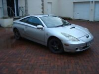 Toyota Celica VVTi 1999 - 2003 Pre-facelift 1.8 Automatic. Most Parts available.