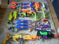 Massive Collection of Nerf Guns.. What's left! Hyperfire, Demolisher, Stryfe, Outbreaker, Doominator