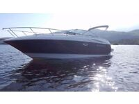 27ft MONTEREY 250 CRUISER: Year 2005, single 240 HP diesel engine with road trailer. Great condition