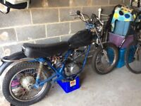 Harley Davidson ss250 project barn find swap