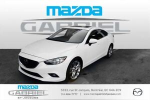 2014 Mazda MAZDA6 GT +GROUPE TECHNOLOGIE+CUIR+TOIT OUVRANT+GPS