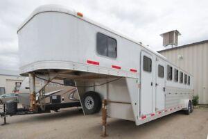2013 EXISS GOOSENECK 7600 GN -6-horse trailer