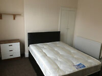 2 Large rooms, couples, new bed, close to Uni and hospital. Refurbished house. Start from £95p/w