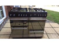 Cannon 8 Hob Range Cooker with Double Oven and Grill