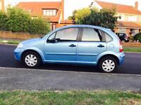2007 Blue Citroen C3, 1.4 SX, 5 Door, Petrol, Manual, MOT, Service, 90K Miles