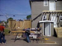 CALL THE PRO'S(DECKS FENCE SIDING ROOFNG)FREE QUOTES