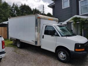 2003 Chevrolet Express 3500 cube truck