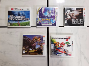 3DS Games Collection