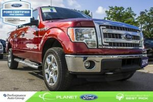 2014 Ford F-150 XLT|3.5L|V-6|4x4|SUPERCREW|FORD CERTIFIED