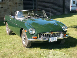 Time to let it go mgb 1977 no trades