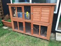 Rabbit or Guinea pig - Double story hutch