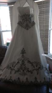 Beautiful Ivory Miss Paris Wedding dress