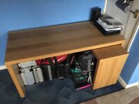 Ikea Malm Computer Desk - Free Delivery In Bristol or Free Collection