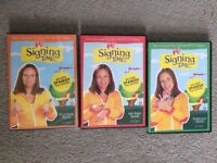 My First Signs (inc. Spanish) - DVD - Baby Sign Language Vol 1-3 (NEW!)