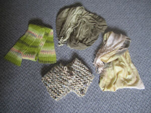 Scarf, scarf, scarf and scarf