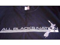 Adidas all blacks t shirt XL £7