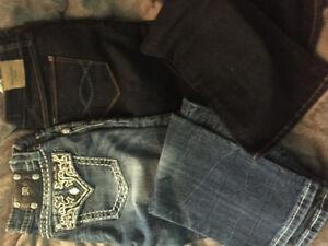 Womens Jeans MissMe,Abercrombie,Express