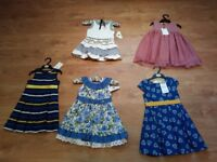 Brand New Dresses Bundle for 2-3 year old girl never worn with labels still attached