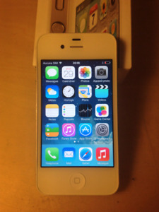 Excellent iphone 4S   (   Rogers  , chatr   )