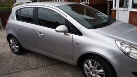 Low mileage Vauxhall Corsa for sale,MOT March 2018 very good condition