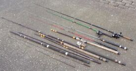 Selection of fishing gear