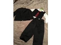 Boys 5 piece suit aged 2-3 years