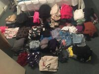 Massive bundle of clothes