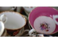 Vintage china hire, Norfolk