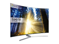 """SAMSUNG UE55KS9000 SMART 4K ULTRA HD 55"""" Curved LED TV - see conditoin notes"""