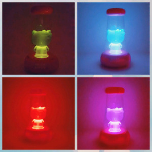 HELLO KITTY Color Changing Nightlight