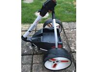 S1 PRO MOTOCADDY (only 10 rounds old) free delivery 50 miles