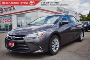 2016 Toyota Camry LE - Certified peace of mind!