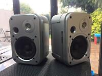 2 x JBL control one speakers for sale