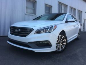 2016 Hyundai Sonata 2.4L Sport Tech, LEATHER, NAV, PAN SUNROOF.