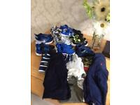 Bundle of designer clothes an trainers