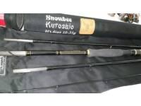 Snowbee kushoru 4 piece lure /spinning rod brand new.
